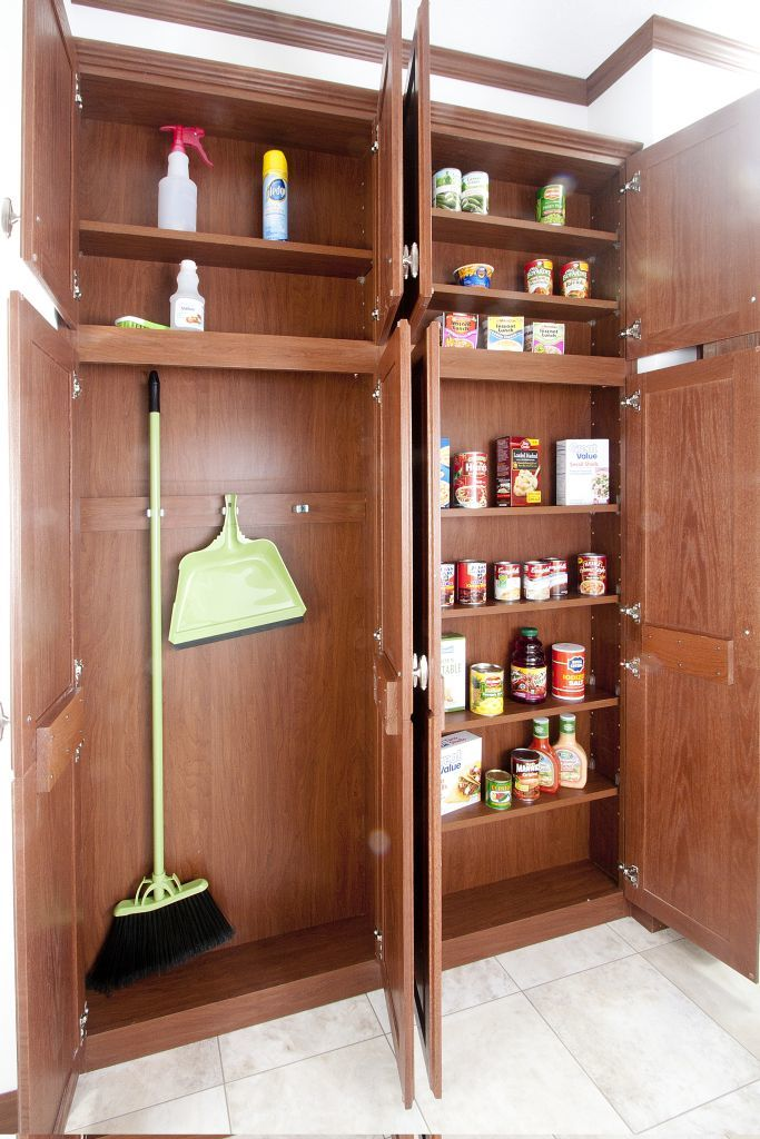 Can Pantry And Broom Closet Commodore Of Indiana