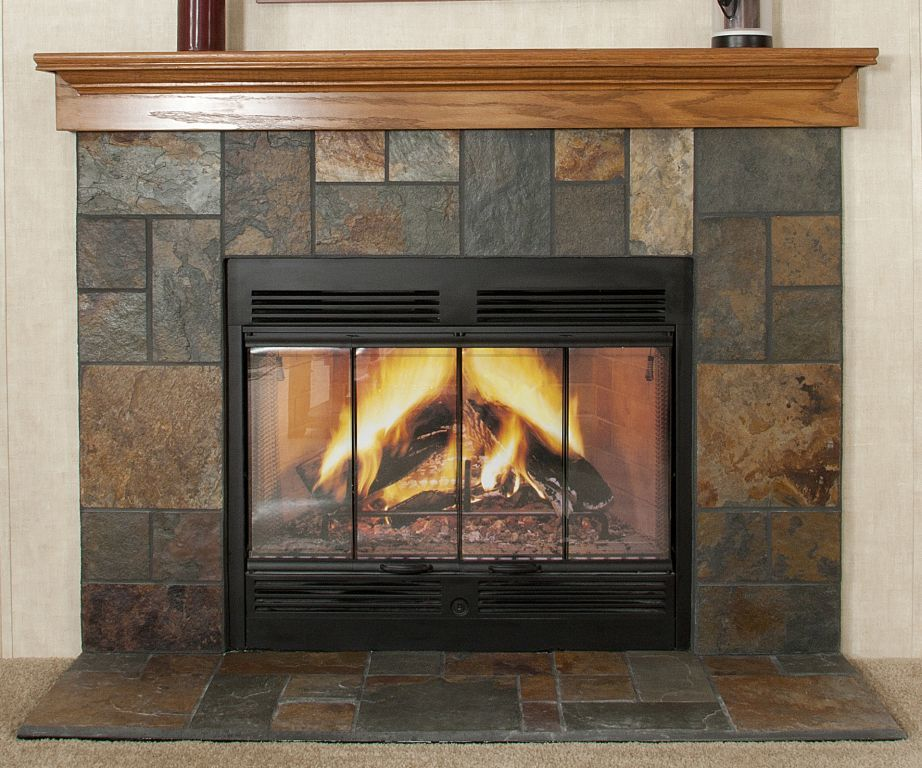 Fireplace Design slate fireplace : Slate Fireplace | Commodore of Indiana