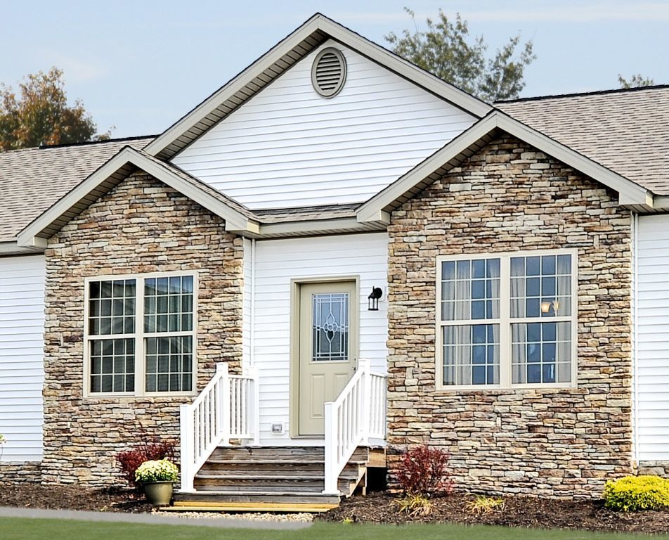 Attractive Hand Laid Stone Exterior Accents Idea