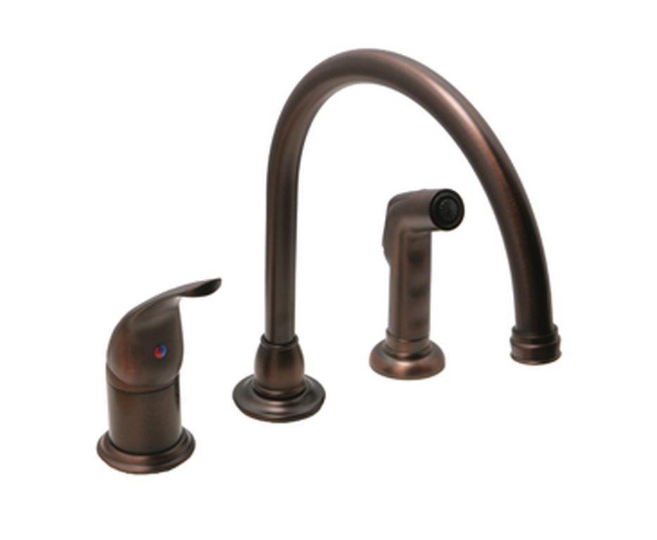 Optional High Rise Kitchen Faucet