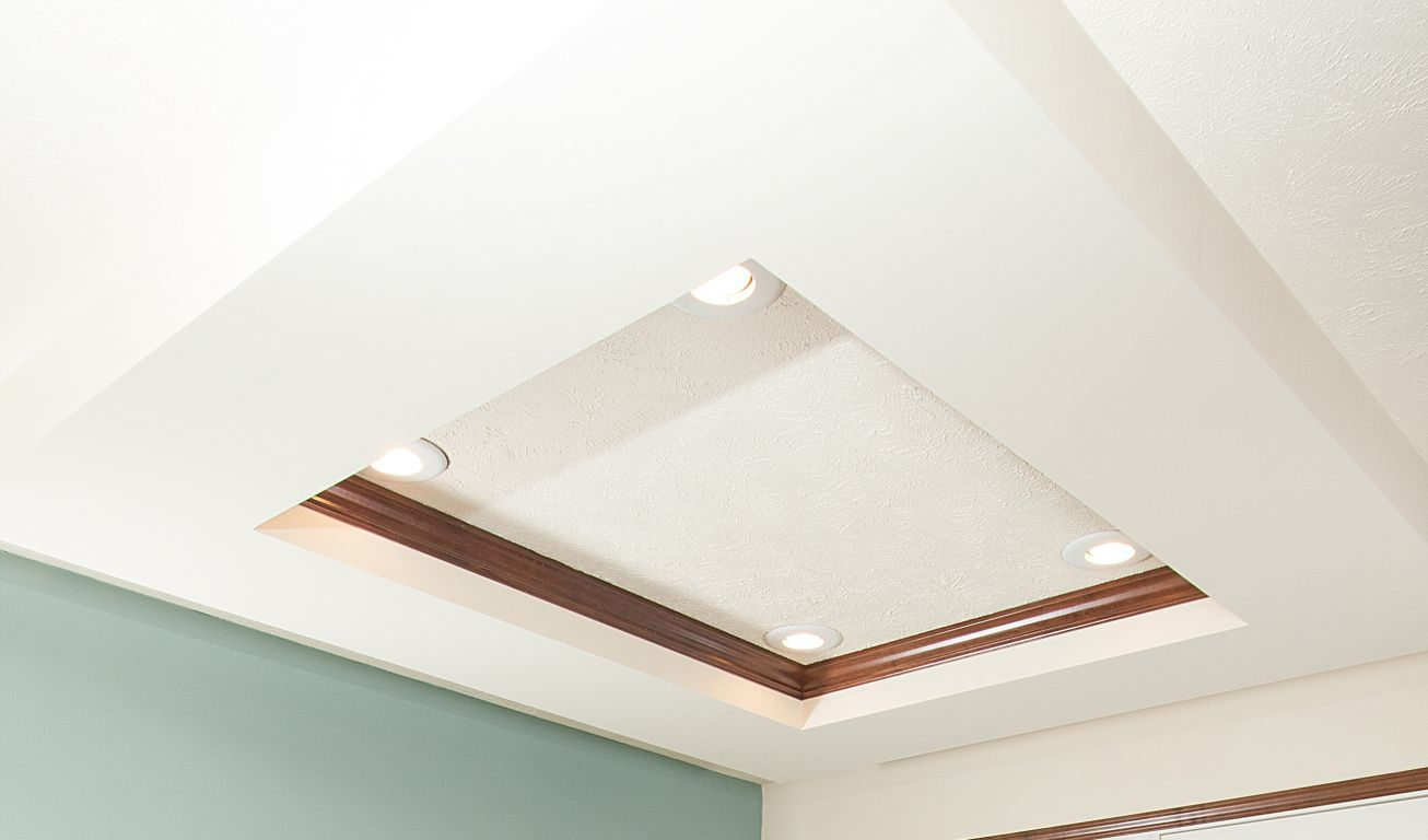 Inset Tray Ceiling | Commodore of Indiana