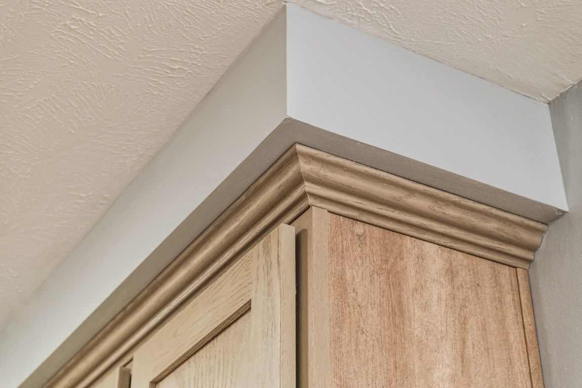 Soffit Above Kitchen Cabinets Commodore Of Indiana
