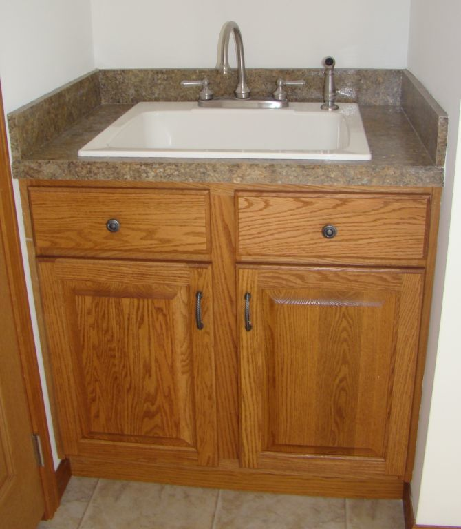 High Quality 1 / 1. Utility Sink With Base Cabinet