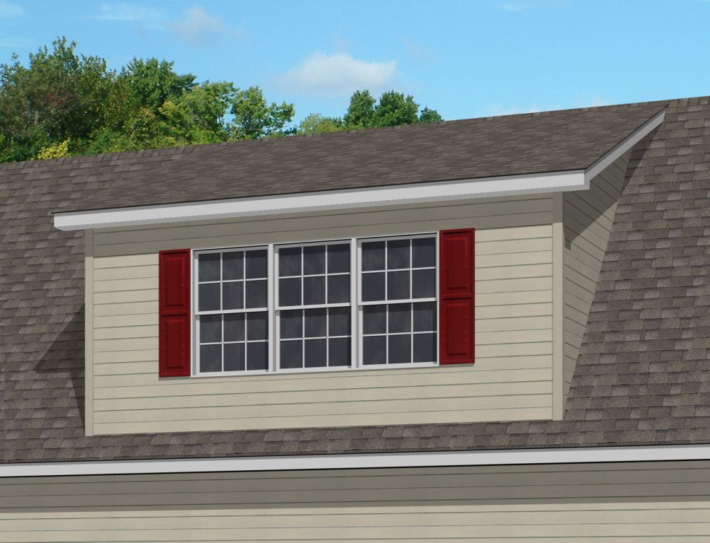 Shed roof dormer modular homes by manorwood homes an for Shed with dormer