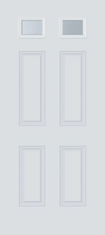 2 Lite Fiberglass Door