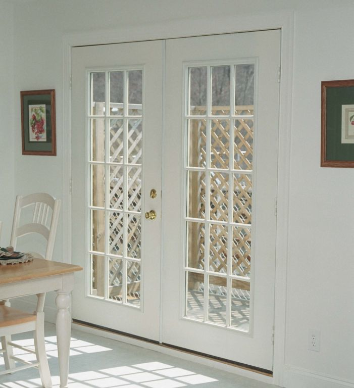 Fiberglass 15 lite french door modular homes by manorwood homes an affiliate of the for Composite french doors exterior