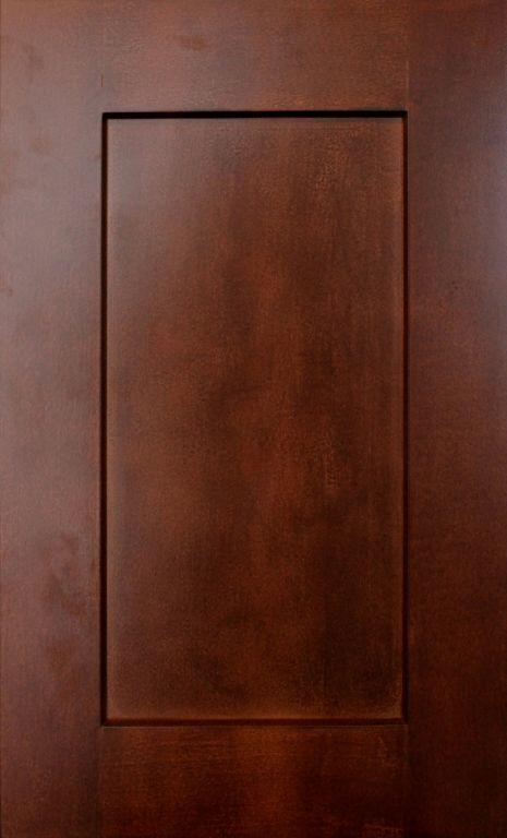 Warm Sienna Maple Flat Panel