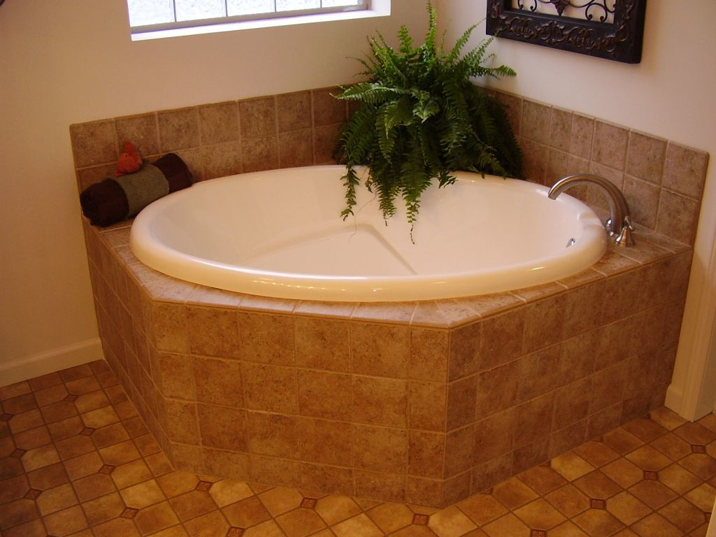 Ceramic Tile Soaker Tub Package | Modular Homes by Manorwood Homes ...