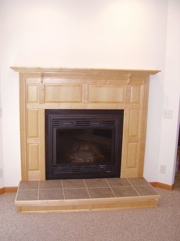 Fireplace Raised Hearth. Expand Colonial Raised Panel with Hearth  Modular Homes by