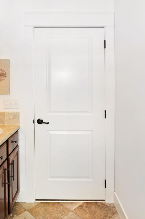 White 2 Panel Interior Door Modular Homes By Manorwood