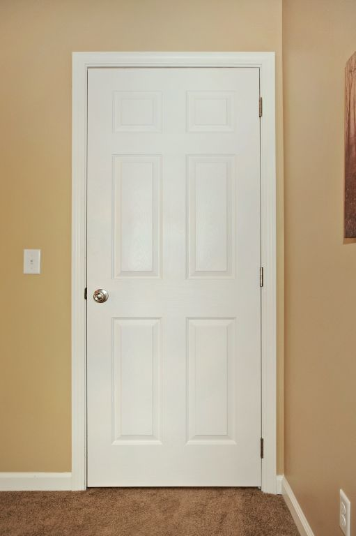 White Interior Doors white 6-panel interior door | modular homesmanorwood homes an