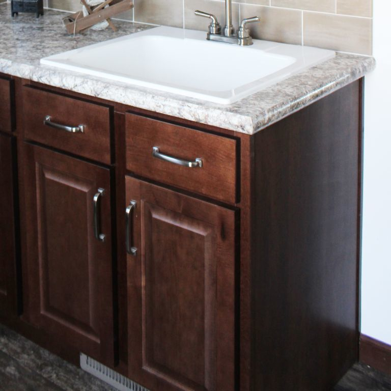 Utility Sink With Base Cabinet