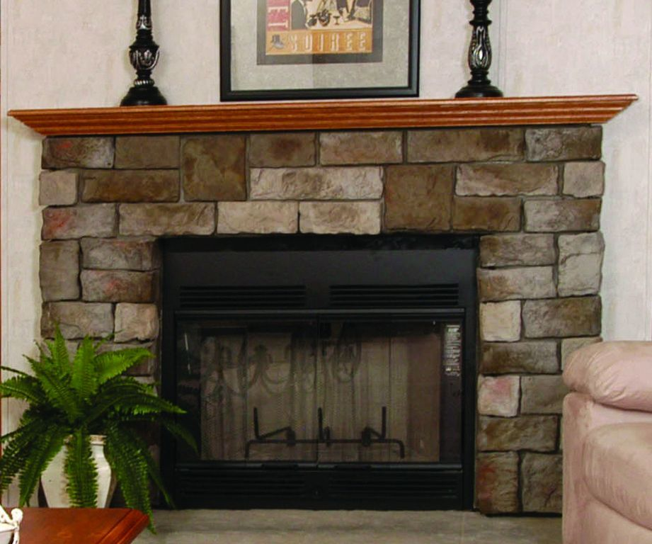 Fireplaces commodore of pennsylvania for Fireplace half stone