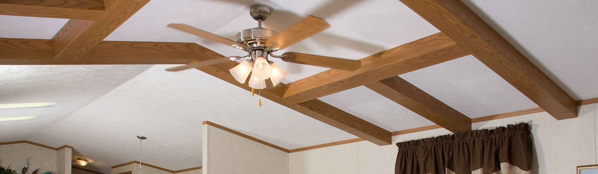 Ceiling fans commodore of pennsylvania ceiling beam application with lighted paddle fan aloadofball Images
