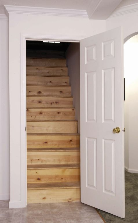 Attic Access With Stairwell