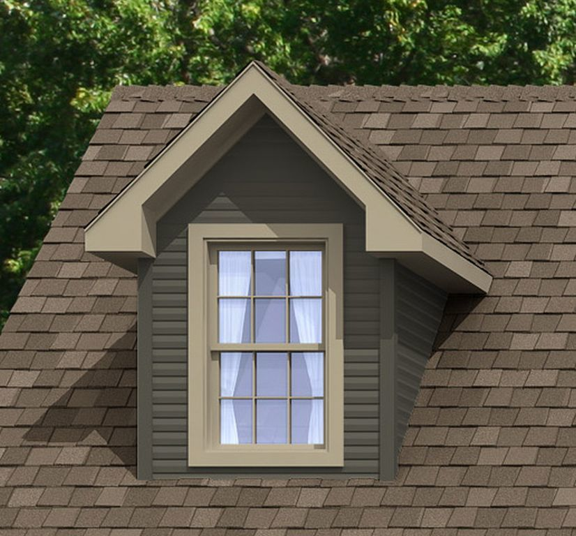 Roofs dormers colony homes for Dormer window construction drawings