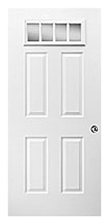 4-Lite Front Door  sc 1 st  Colony Homes & Doors - Exterior | Colony Homes