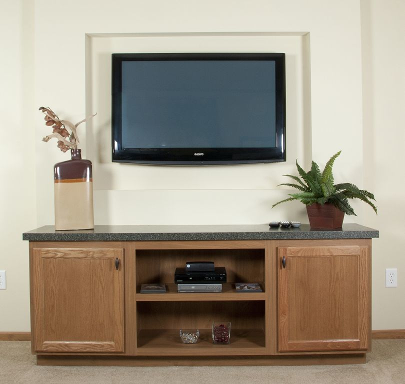 Mf 101 Drywall Tv Niche Amp Tv Stand Colony Homes