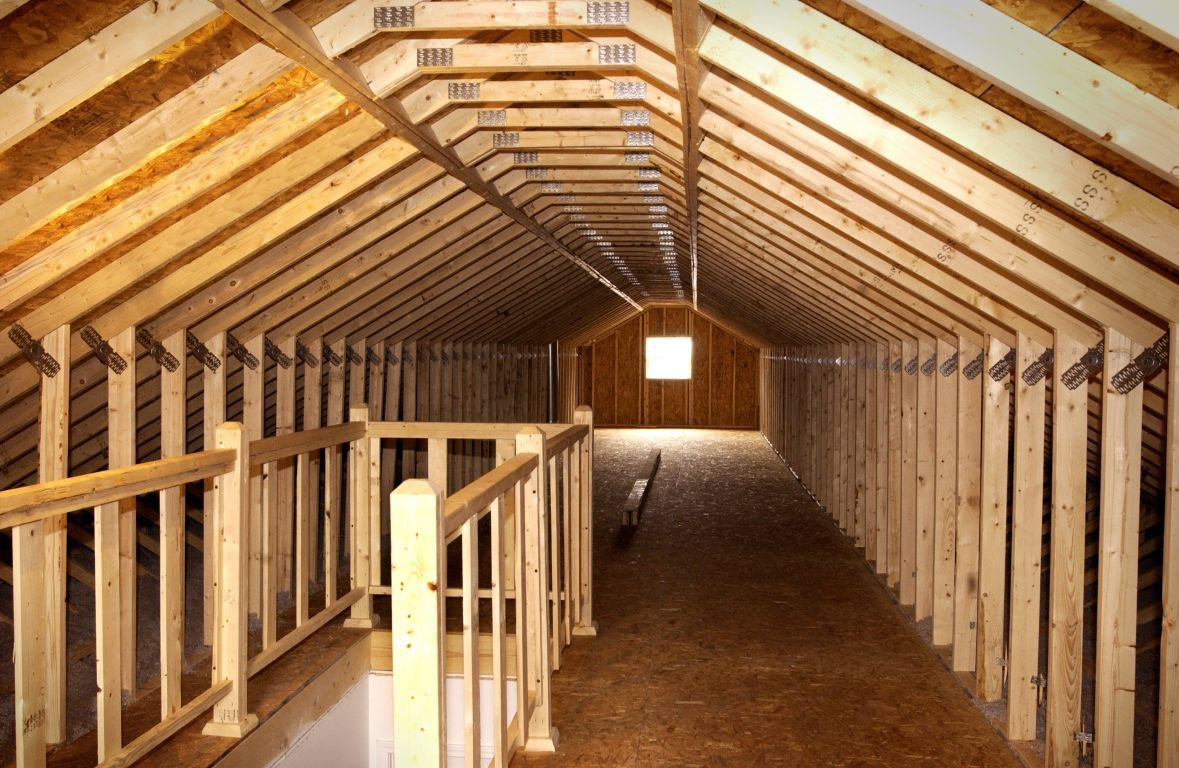Attic Access Colony Homes