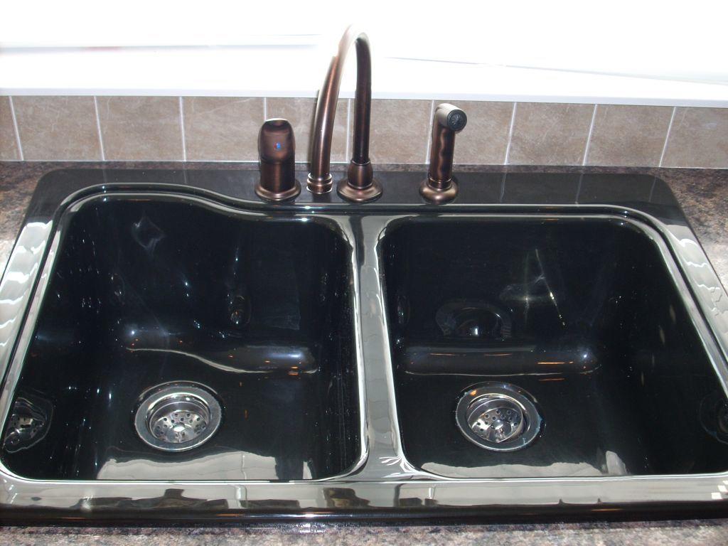 Opt. Black Acrylic Kitchen Sink | Commodore of Pennsylvania