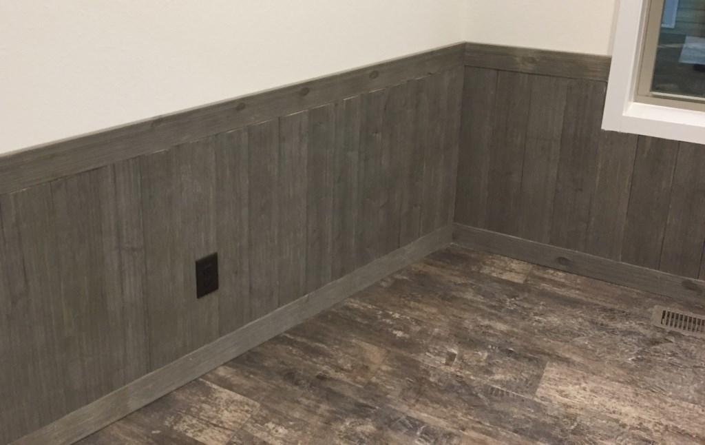 Plank Board Wainscot Walls