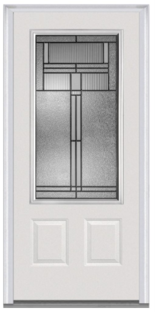 Opt. Brighton 3/4 Glass Front Door