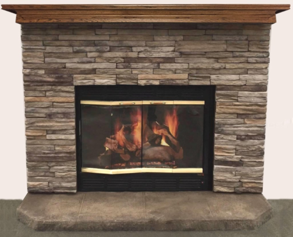 Dry Stack Fireplace Pictures Fireplaces