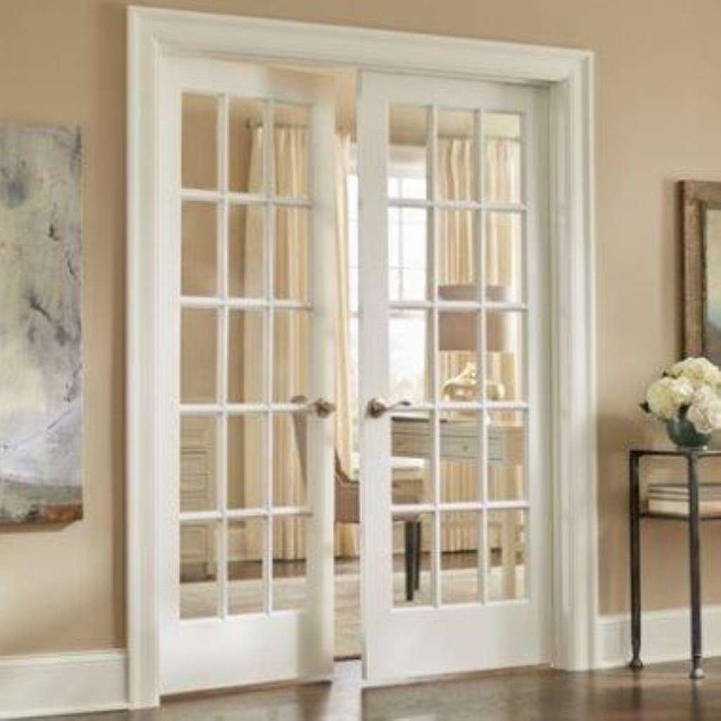 Interior doors r anell homes opt french door with grids planetlyrics Images