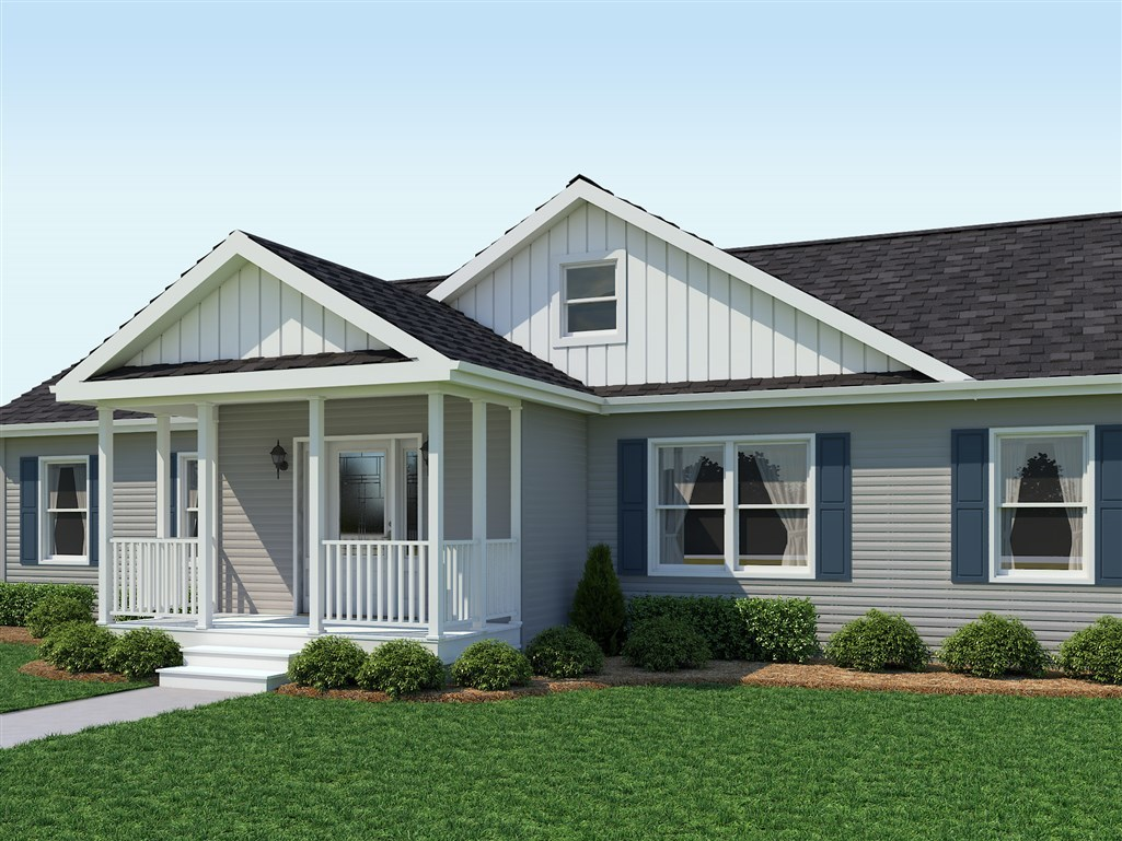 Modular Home With Foyer : Covered entry with formal foyer pod modular homes by