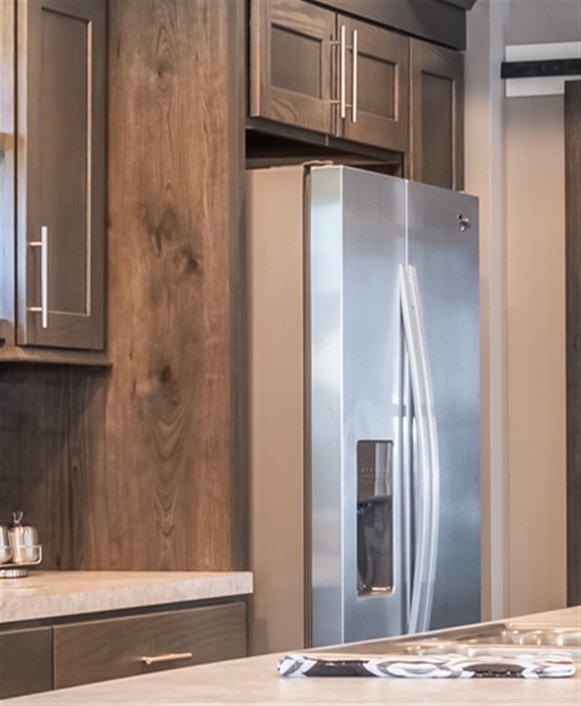 Kitchen Cabinets Refrigerator Surround: Classic Craft Refrigerator Surround