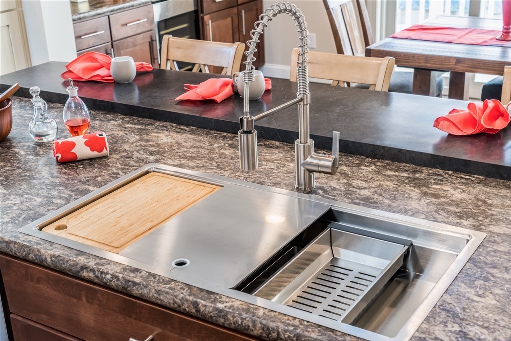 Galley Sink Modular Homes By Manorwood Homes An