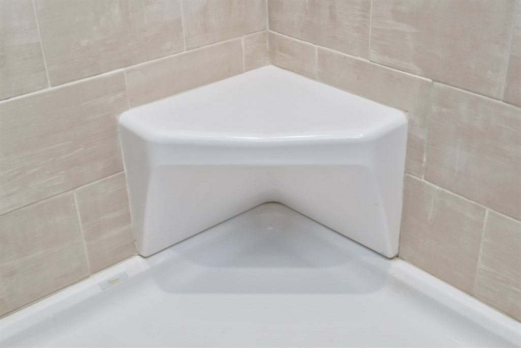 Corner Shower Seat | Modular Homes by Manorwood Homes an Affiliate ...