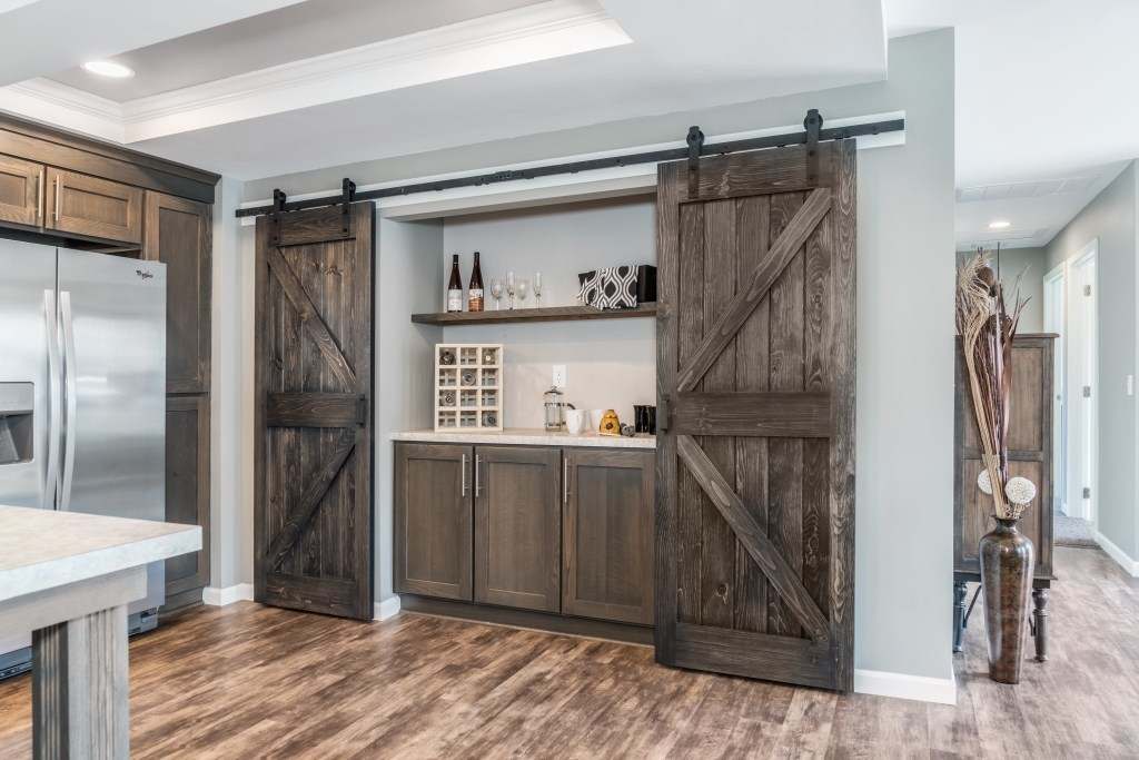 Sliding Barn Doors Modular Homes By Manorwood Homes An