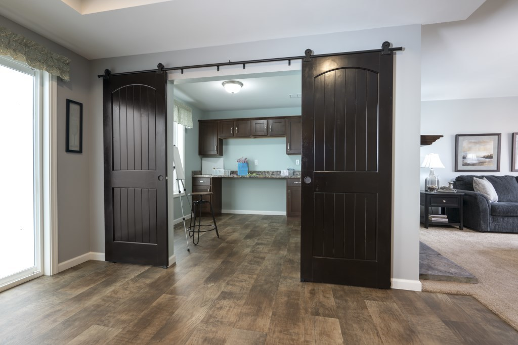 Sliding Barn Doors | Modular Homes by Manorwood Homes an Affiliate on mobile home cabinets, mobile home appliances, mobile home 6 panel door, mobile home exterior, mobile home closets, mobile home windows,