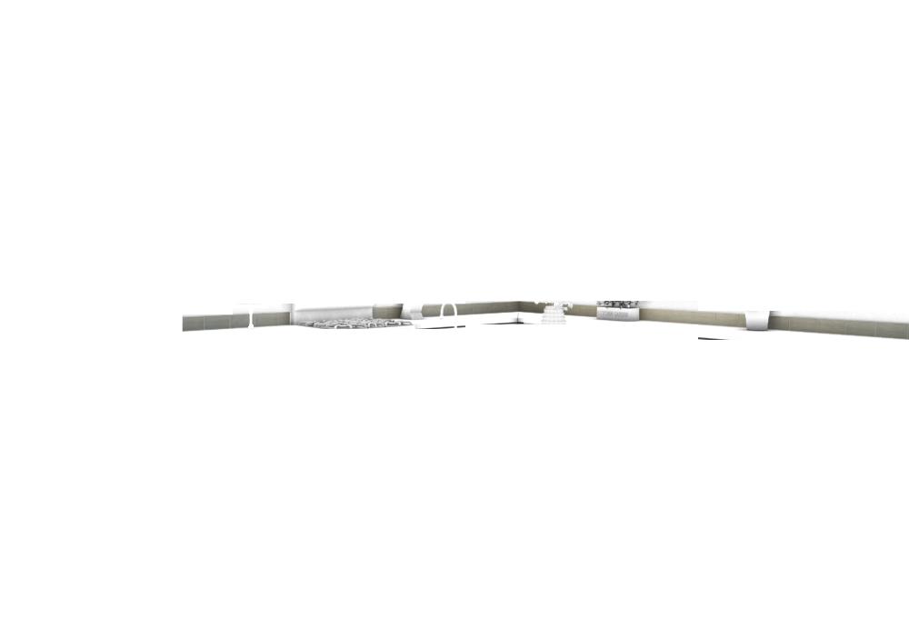 4x8 Single Row - Gray Pearl (glossy)
