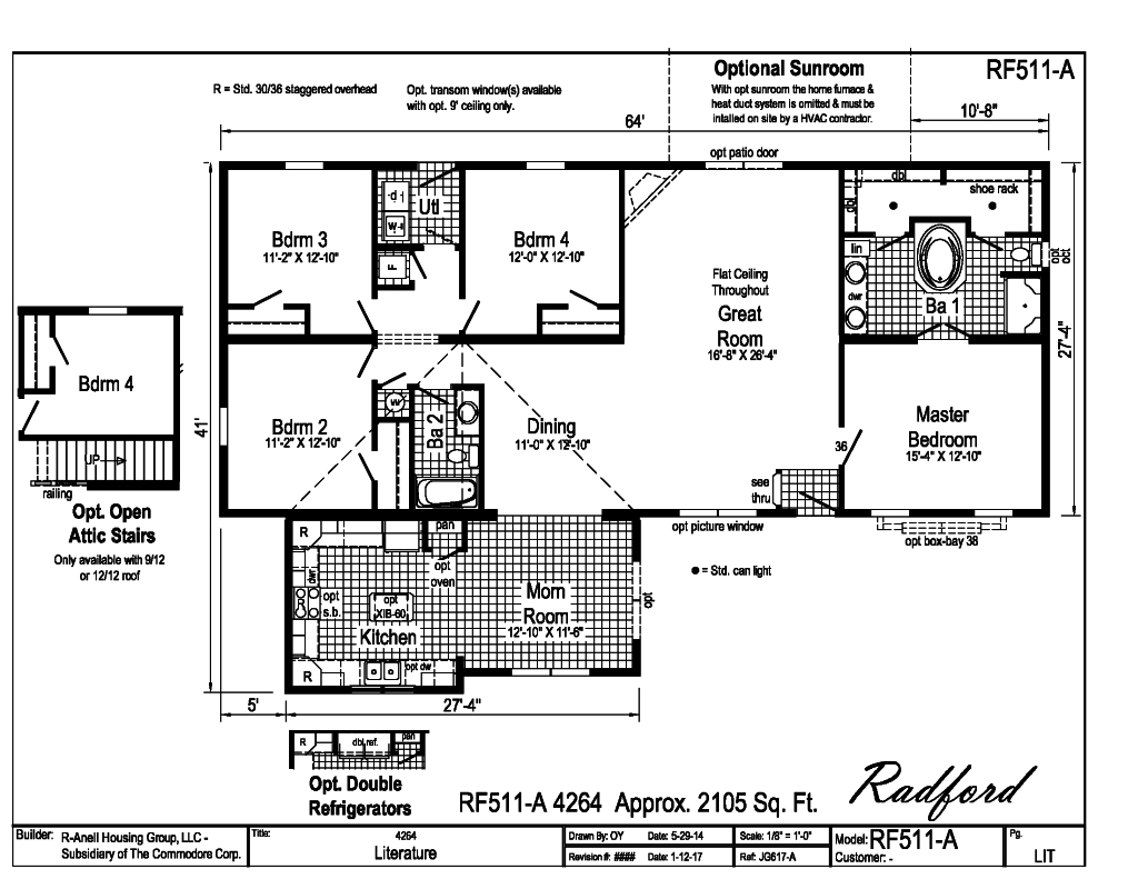 Rockbridge Modular Homes - Radford - RF511A | Find a Home ...