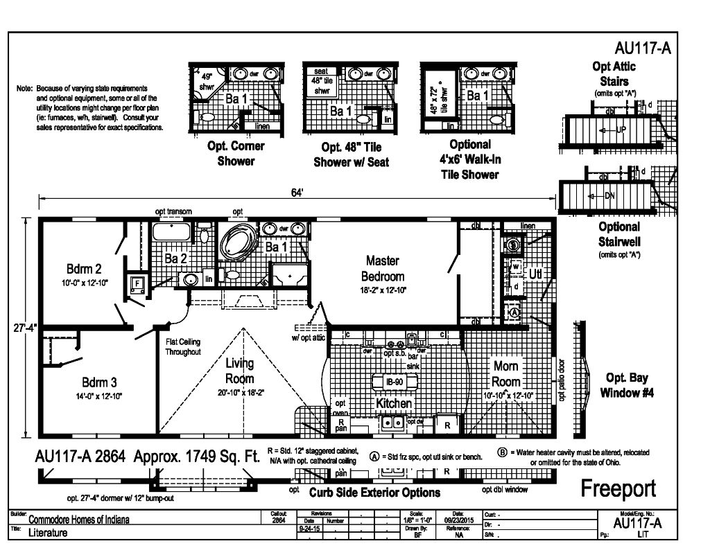 Commodore homes floor plans for Free modular home floor plans