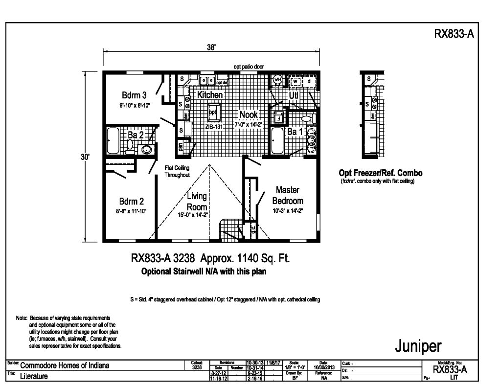 100 modular raised ranch floor plans raised ranch for Raised ranch floor plan