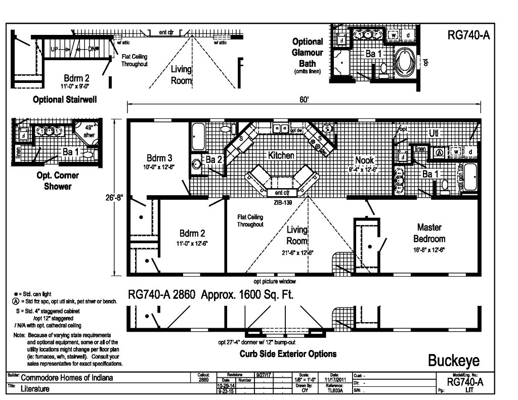 Grandville LE Modular Ranch Buckeye RG740A – How To Find Your Homes Floor Plan