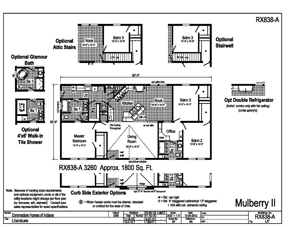 Grandville LE Modular Ranch - Mulberry II - RX838A   Find a Home ...