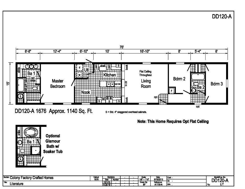 Beacon - - DD120A | Find a Home | Commodore Homes